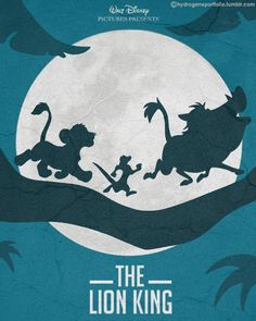 Minimal Film Poster - The Lion King (1994) watch this movie free here: http://realfreestreaming.com