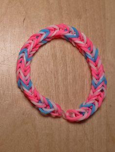 Intersex Pride Flag Loom Bracelet (Stripe) from AeronMadeThis on Etsy