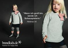 circus mag: #brandkids starts a wonderful fashion campagne with downsyndrom models http://bit.ly/1PC9oVL