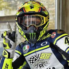 Love this pic.  Re-pinned - Valentino Rossi, VR46