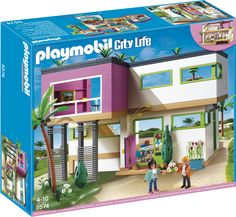 City life playmobil and cities on pinterest for Wohnzimmer 5584
