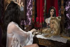 """Although i typically do not share current films I wanted to share the gorgeous costuming from the 2016 cult film, """"The Love Witch"""" which… Janis Joplin, Diana Ross, The Love Witch Movie, Woodstock, Samantha Robinson, Nana Mouskouri, Dalida, Sheila, Vintage Goth"""