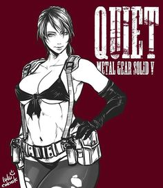 Metal Gear Solid V:The Phantom Pain Former XOF Special Agent:Quiet Cloaked in Silent Author:shinosaaaaaaag