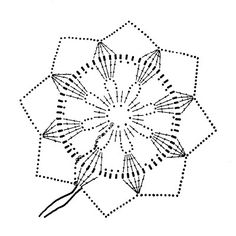 snowflake crochet 136