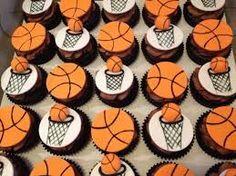 Resultado de imagen para basketball cupcakes