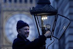 Important job: Before lamplighters existed, London was a dark city. In the 18th century, i...