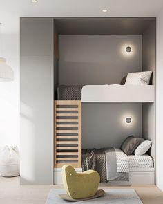 Interior Styling, Interior Design, Kids Room Design, Scandinavian Home, Kid Spaces, Kid Beds, Apartment Design, Kids Bedroom, New Homes