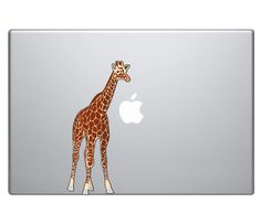 Giraffe Vinyl Decal Sticker Skin MacBook Pro Air 13  15  17 Apple Sahara Africa