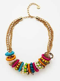 Multi-Strand Ring Necklace