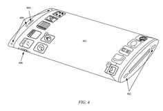 New patent app from Apple shows a wrap-around iPhone screen with no real buttons - all virtual! #PatentsOfTheWeek