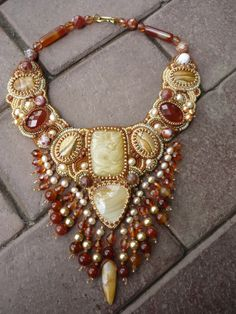 Gallery.ru / Photo # 1 - Necklace Soul Desert - Chikineva