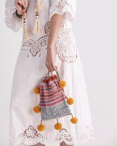 GAIA Pom Pom Bag //   www.gaiaforwomen.com