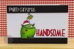 Paper Smooches card by Jenny Mullins (Falling for you, headliners, Christmas Sampler, Hang Ups)