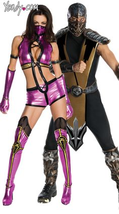 Mileena Mortal Kombat Costume, Sexy Mileena Costume, Female Mortal Kombat Costumes