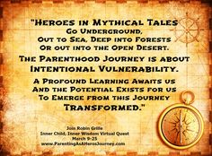 Join Robin Grille on a Parenting As A Hero's Journey Virtual Retreat!
