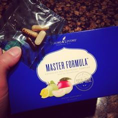 Just got super excited to take my vitamins! New #MasterFormula from #YoungLiving is just 1 packet daily for everything you need! #soeasy #gettinghealthy #stillttc #beyondtheleaf