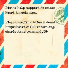 Join me in my efforts to support American Heart Association - Charlotte, NC!