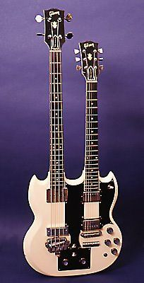 1964 Gibson double neck bass gtr./guitar.