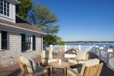 Located in the heart of the historic district on Martha's Vineyard on prestigious South Water Street in Edgartown, Massachusetts, this waterfront home enjoys stunning views of Edgartown Harbor.