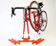 SteepGrade Orange Single Bike Rack – SteepGrade Bike Racks