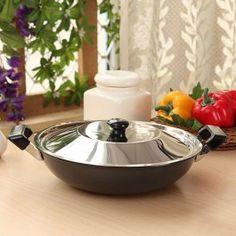 Dailyware Kadai With Lid 14 Online Kitchen Store, Buy Kitchen, Kitchen Items, Prestige Pressure Cooker, Save Fuel, Kitchenware, Tableware, Storage Sets, Wok