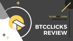 BTCClicks Review – A Real Bid to Earn Bitcoins or a Scam to Ignore? Learn more in our comprehensive review here Make Money Online, How To Make Money, Learning, Teaching, Education, Studying