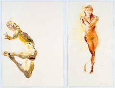 Watercolors by Eric Fischl | Art by Fischl Eric (Neo-Expressionism ...