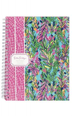 Lilly Pulitzer Authentic Notebook Personalized by PreppyPinkies