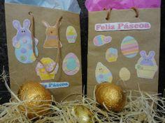 Lembrancinhas simples e personalizadas para páscoa! #pascoa #diy #facavocemesmo