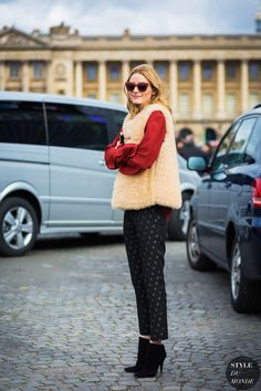 How to Be Festive When You Don't Wear Dresses, According to Olivia Palermo via @WhoWhatWearUK