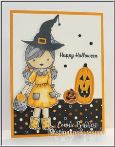 Stampin' Up! Halloween Cards, Fall Halloween, Happy Halloween, Team Theme, Stamping Up Cards, Fall Cards, Cardmaking, Stampin Up, Little Girls