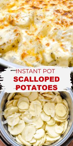 Best Instant Pot Recipe, Instant Recipes, Instant Pot Dinner Recipes, Side Dish Recipes, Potato Side Dishes, Veggie Dishes, Food Dishes, Instant Pot Pressure Cooker, Pressure Cooker Recipes