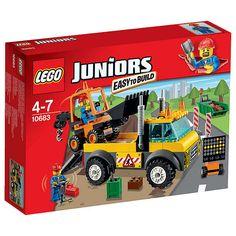 BuyLEGO Juniors Road Work Truck Online at johnlewis.com