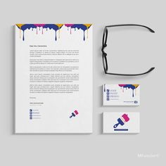 Stationary sample design Corporate Branding, Business Cards, Stationary, Words, Design, Lipsense Business Cards, Brand Management, Visit Cards, Carte De Visite