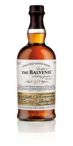 """The Balvenie - Forty - Aged 40 Years : un peu trop de choses sur l'étiquette mais belle harmonie globale et esprit """"hand crafted"""""""