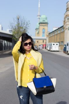 Yellow Power on the blog- www.SashasSatisfashion.com