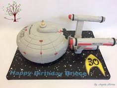 USS Enterprise by Blossom Dream Cakes - Angela Morris
