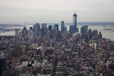 NYC - City line by MichelleLynsey, via Flickr