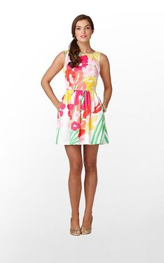 I purchased this dress, but not in this pattern. I purchased 'A Thing Called Love.' :)
