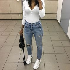 Visit our site for more Fashion and Trendy Outfits Cute Date Outfits, Chill Outfits, Basic Outfits, Swag Outfits, Mode Outfits, Simple Outfits, Spring Outfits, Trendy Outfits, Fashion Outfits