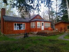 Big Bay cottage: Quaint Cottage on Lake Independence Weekly Rentals, Big Bay, Upper Peninsula, Boat Dock, Lake View, Trail, Cottage, Cabin, Vacation