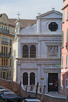 Chiesa di San Giorgio degli Schiavoni (Venice) - World Heritage Site Saint Georges, Christian World, Regions Of Italy, Triomphe, Renaissance, Visit Italy, Beautiful Places In The World, Place Of Worship, Small Island