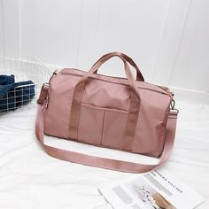 Canvas Sports Gym Bags Men Women Training Fitness Travel Handbag Yoga Mat Sport Bag With Shoes Compartment New Outdoor Waterproo Travel Handbags, Purses And Handbags, Travel Bags, Nylons, Mens Gym Bag, Travel Workout, Designer Shoulder Bags, Outdoor Workouts, Luggage Bags