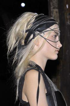 Belgian designer Ann Demeulemeester