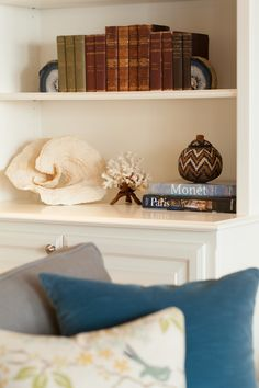 Transitional Family Room Bookcases Alexandra Luhrs Interior Design