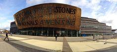 Wales Millennium Centre, Cardiff Bay, via Flickr. Visit Cardiff, Cardiff Bay, Cardiff Wales, Jonathan Adams, Millennium Stadium, Visit Wales, Irish Sea, Bays, Garden Features