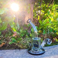 BARREL WATER PIPE RIG WITH BENT NECK  This cool rig is available on our online head shop!  KINGS-PIPE.COM  #kingspipe