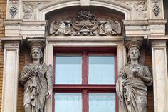 """""""Detale architektoniczne bytomskich kamienic"""" (fot. Henryk Puzio)"""
