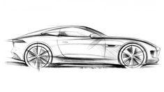 Car Sketch Side View